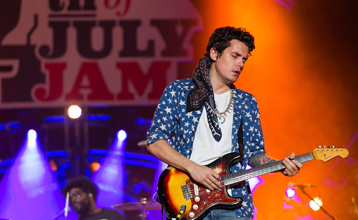 John Mayer at Welcome America Festival